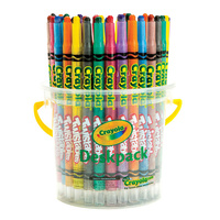 Crayola Crayons Twistables - 32 Asst Deskpack 8 Colors