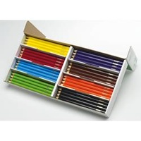 Crayola My First Color Pencils - 96 Asst Classpack Jumbo Hexag