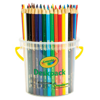 Crayola Coloured Pencils 48 Assorted Desk Pack 12 Colours