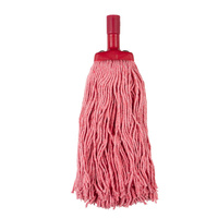 Cleanlink Mop Head Coloured 400Gm Red