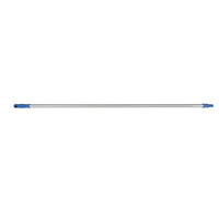 Cleanlink Mop Handle Aluminium 150cm 25mm Thread Blue
