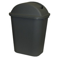 Cleankink Bin with Lid 36 Litre Grey