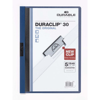 Durable Duraclip #30 Document File Dark Blue