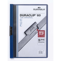 Durable Duraclip #60 Document File Dark Blue