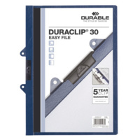 Durable Duraclip Easy Files - A4 30 Sheet Capacity With Binder Fitting