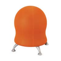 Safco Zenergy Ball Orange Fabric
