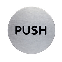 Durable Pictogram Sign - Push 65mm