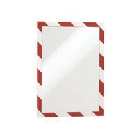 Durable Duraframe Security - A4 Red/White