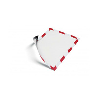 Durable Magnetic Frame - A4 Security Red/White