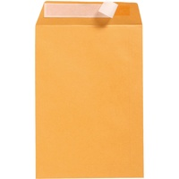 Cumberland Pocket Envelopes DL 220X110 Strip Seal Gold 85gsm Bx500