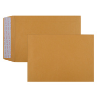 Cumberland Envelopes C5 229X162mm Strip Seal Gold 85gsm Bx500