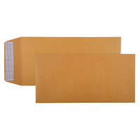 Cumberland Pocket Envelopes 305x150mm Strip Seal Gold Bx250