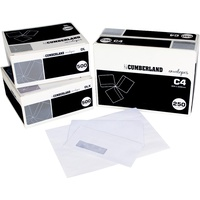 Cumberland Laser Envelopes C4 Pocket 324mmX229mm Strip Seal Bx250