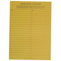 Cumberland Pocket Envelope - C4 324X229 Gold Interoffice