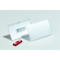 Durable Click Fold Name Badge - With Magnet Box 10