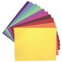 Colourful Days Cardboard 510x640mm Assorted Colours Pk100