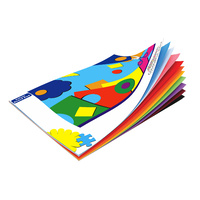 Colourful Days Colourboard Pad 210gsm 349x250mm Assorted Colours 10 Sheets