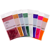 Colourful Cello Wrap 750 x 1000mm Assorted Pk25