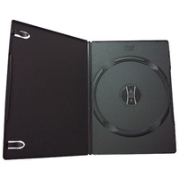 Cumberland CD/DVD Case Slimline Black Pk5