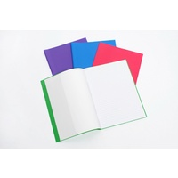 "Cumberland Coloured Book Covers  9"" X 7"" Pk5"