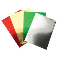 Colourful Days Mirrorboard 250Gsm 510X640 Assorted Pk25