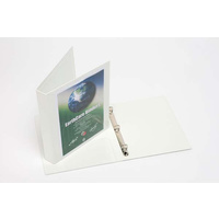 Earthcare Binder Insert A4 3D Ring 52mm White