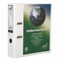 Cumberland Earthcare Lever arch Insert A4 White