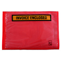 CUMBERLAND PACKAGING ENVELOPES - Invoice Enclosed Red