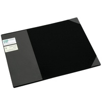 Cumberland Desk Mat - 450X590mm Sleeve & Corners Black