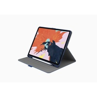 "Cygnett TekView with Apple pencil holder for iPad Pro 11"" Navy/Blue"