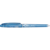 Pilot BL-FRP5 Frixion Needlepoint Rollerball Pen 0.5mm Light Blue