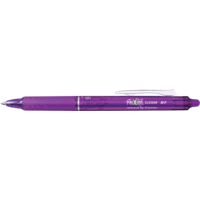 Pilot Frixion Clicker Pen 0.7mm Fine Violet Erasable