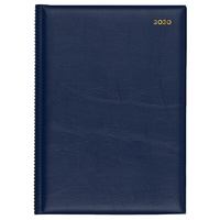 Collins Belmont Diary A4 1 Day to Page Navy 2020 Edition
