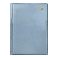 Collins Belmont Diary A5 Day to Page Grey 2021 Edition