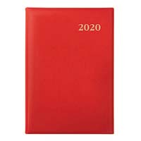 Collins Belmont Diary A7 Week to Opening + Pencil Assorted 2020 Edition