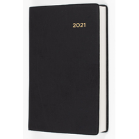 Collins Belmont Pocket Diary A7 Week to View Black 2021 Edition