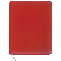 Debden Executive Portfolio A4 Zippered Portfolio Red