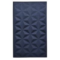 Collins Attune Ruled A5 Slim Notebook Navy Blue