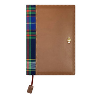 Collins Candleriggs Diary A5 Vertical Week to View Bonded Tan Leather
