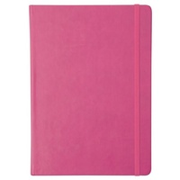 Collins Legacy A5 Feint Ruled Notebook Pink