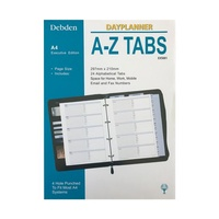 DayPlanner Executive Refill EX5001  A-Z Tabs