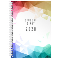 Debden Student Diary A5 Week to an Opening Spiral Bound 2020 Edition