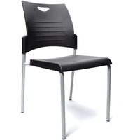Buro Pronto 4 Leg Chair - Black