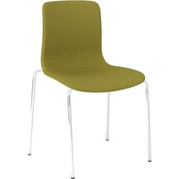 Dal Acti 4Cf 4 Leg Chair - Green Fabric