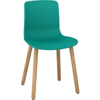 Dal Acti 4T Wood Leg Chair - Teal