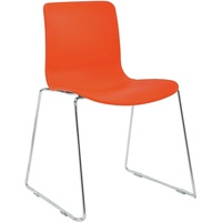 Acti Sc Sled Base Chair - Chrme Frame With Plastic Shell