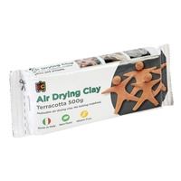 EC Modelling Clay 500g Terracotta Air Drying