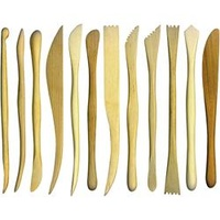 EC Clay Modelling Tools 20cm Set of 12