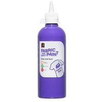 EC Fabric and Craft Paint 500ml Purple
