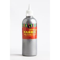 EC Fabric and Craft Paint 500ml Silver